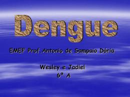 Projeto Dengue - Wesley e Jadiel 6ª A