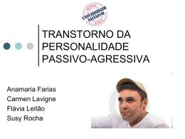 TRANSTORNO DA PERSONALIDADE PASSIVO