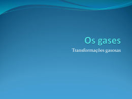 Os gases - WordPress.com