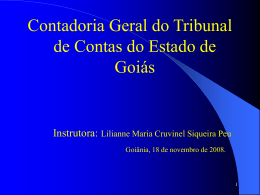 Contas do Governador