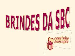Book Comercial Brindes SBC Cantinho do Coração
