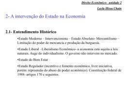 Direito Econômico- unidade 2 Layla Hissa Chain