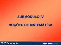 8 Submodulo 4 Nocoes de Matematica