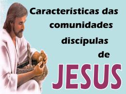 Características das cdes de JC.