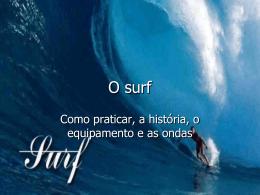O surf - O MAR