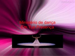 palestra ministerio de dança