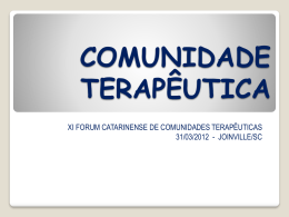 XI Forum – Normatização CT