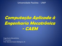 1. Introdução ao CAEM