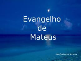 Evangelho de São Mateus