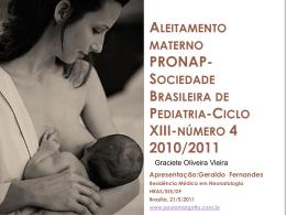 Aleitamento materno - Paulo Roberto Margotto