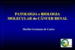 Carcinoma de células renais variante Células Claras Carcinoma