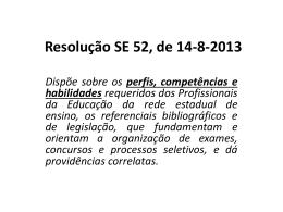 Apresentação Legislação