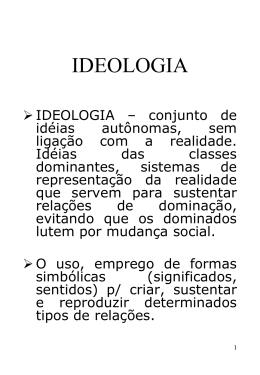 2. Ideologia - Blog da classe
