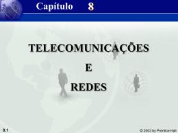 TELECOMUNICAÇÕES E REDES
