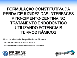 FelipeRecka2008 - Universidade Federal do Paraná