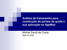 Michel David da Costa - Seminário de Andamento - tcc