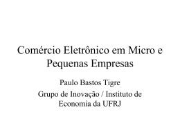 Comércio eletrônico em MPE