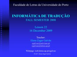 Padova Presentation - Universidade do Porto