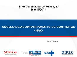 NAC - Secretaria da Saúde