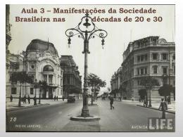 Igreja na década de 1920