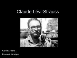 Apresentação de slides – Claude Lévi-Strauss