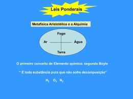 Leis_Ponderais - Prof. Camilo Castro