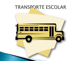 Transporte - Diretoria de Ensino
