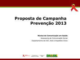 PPT 14820 KB - Departamento de DST, Aids e Hepatites Virais
