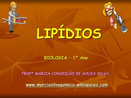 LIPÍDIOS - marciasilvaquimica