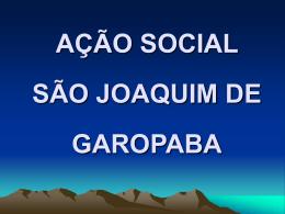 Apresentação Ação Social São Joaquim