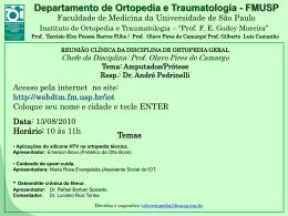 Slide 1 - fmusp - Universidade de São Paulo