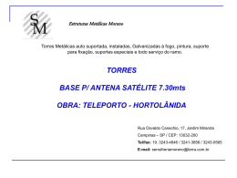 teleporto - antena 7.3 - serralheria moreno torres metálicas p