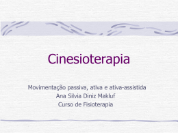 Cinesioterapia