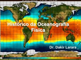 Histórico da Oceanografia