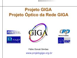 FUNTTEL Projeto GIGA