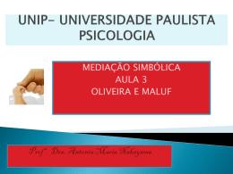 UNIP- UNIVERSIDADE PAULISTA PSICOLOGIA