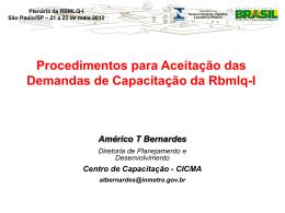 Apresentação Américo Bernardes - Cicma - Documentos