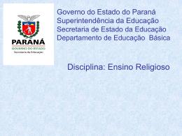 Versão  - Ensino Religioso