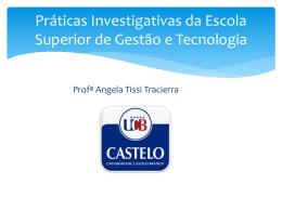 Práticas Investigativas em Sistemas de Informação I