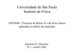 No Slide Title - fap.if.usp.br