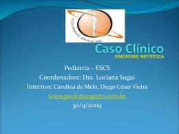 Caso Clínico: Síndrome Nefrítica
