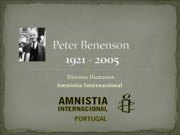 Peter Benson - Material de Catequese