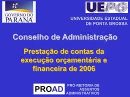 - Universidade Estadual de Ponta Grossa