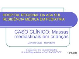 hospital regional da asa sul residência médica em pediatria
