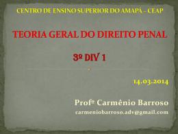 TEORIA GERAL DO DIREITO PENAL