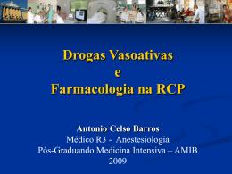 Farmacologia em RCP