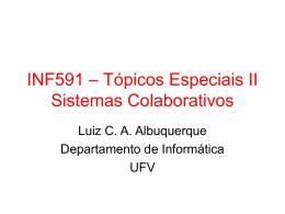 Aula 00 - CMP505: Tópicos Especiais: Aplicações avançadas