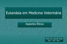 Eutanásia em Medicina Veterinária