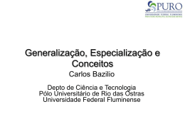 classes - Universidade Federal Fluminense