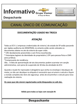 Informativo F&I